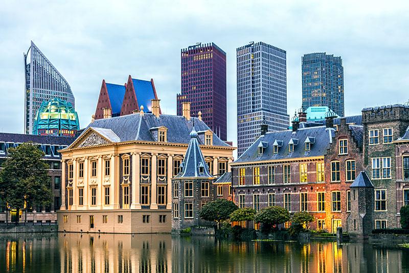Regierungsgebäude in Den Haag